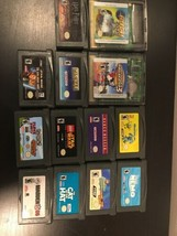 Lot Of 13 Nintendo Game Boy/advance Games. Star Wars, Harry Potter, Tony... - $18.91