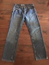 Girls/Juniors DKNY Straight Jeans Size 16 26x28 Medium Wash Denim - $14.00