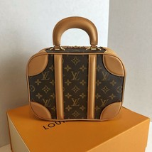 Auth BNIB 2019 Louis Vuitton Mini Luggage Monogram Canvas Bag - $3,104.00