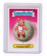 2014 Garbage Pail Kids Series2 *WRECKED WREN* Pingtore Autograph Error! ... - $2.99