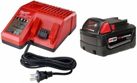 Milwaukee Portable Power Tool Battery Charger Starter Kit 18-Volt Multi-Voltage - $145.95