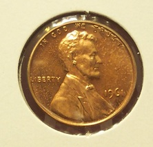 1961 Lincoln Memorial Proof Penny PF65 #0020 - $0.99
