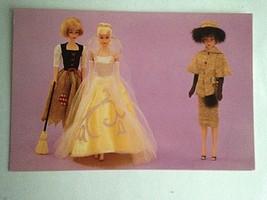 Barbie VTG Postcard Barbie Doll Collector Christmas Gift Cinderella Z45 - $12.82