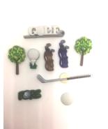 Golf Push Pins or Thumb Tacks for Cork Message Board Cubicle Decor - $10.99