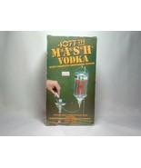 VINTAGE MASH 4077TH VODKA DISPENSER IN ORIGINAL BOX- COMPLETE~EXCELLENT! - $42.57