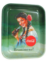 Coca-Cola Reproduction Tray 1950s Ad Reanimese! Issued in 1997 - $20.79