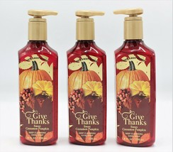 Bath & Body Works Sweet Cinnamon Pumpkin Deep Cleansing Hand Soap, (Set ... - $20.99