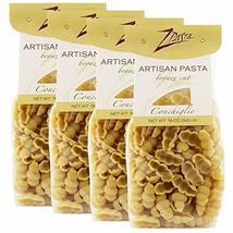 ZPasta Conchiglie - Bronze Cut Artisan Pasta 12 oz (4 Pack) - $21.77