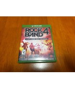 Rock Band 4 Microsoft Xbox One 2015 New Factory Sealed - FREE AND FAST S... - $21.99