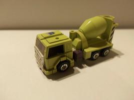Vintage 1984 Hasbro G1 Transformers Constructicon Mixmaster Cement Truck - $27.67