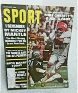 Sport Magazine January 1968 Mike Garrett Chiefs Mickey Mantle mailing label - $9.89