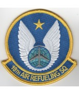 USAF AIR FORCE 18TH AIR REFUELING SQUADRON ARS KC-135 BLUE EMBROIDERED P... - $23.74
