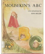 Mousekin's ABC by Edna Miller 1972 Vintage Hardcover Picture Book - $19.79