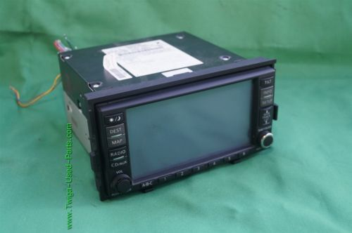 Nissan Altima GPS CD AUX NAVI Bose Stereo Radio Receiver Cd Player 25915-JA00B