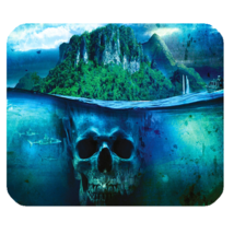 Mouse Pads Far Cry Skull Underwater Nature Scary Design Shooter Game Mousepads - $6.00