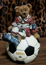 Boyds Bears and Friends 1998 All Star Soccer Ornament #25704V  16E/2081 - $14.99