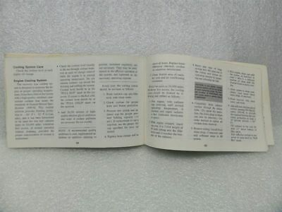 1973 CHEVY CHEVROLET Owners Manual 15999