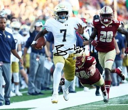 Brandon Wimbush Signed Photo 8X10 Autographed Notre Dame Football - $19.99