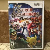 Super Smash Bros. Brawl (Nintendo Wii, 2008) Complete Free Shipping - $23.21