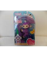 Fingerlings Mia Purple/White Hair Interactive Baby Monkey - $35.00