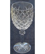 Waterford Crystal Powerscourt Water Goblet - Cut Crystal - VGC - GREAT P... - $108.89