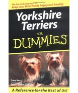 Yorkshire Terriers For Dummies Barr, Tracy and Veling, Peter F. - $11.87
