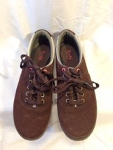 KEDS  Escape Womens Suede Lace Up Arch Support Brown Sneakers Size 7.5  USA - $18.50
