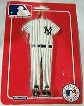 Kurt S. Adler New York Yankees Ornament White Stripped Full Uniform  - $18.95