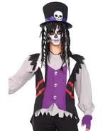 Men's 5pc Voodoo Priest Witch Dr Halloween Costume XL - $50.48