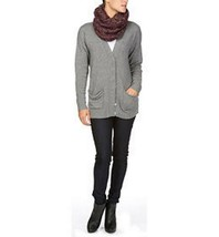 MICHAEL STARS Mohair Blend COWLNECK SCARF Cable KNIT 100% Acrylic ONE SIZE - $59.97