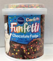 Pillsbury Confetti Funfetti Chocolate Fudge Frosting 15.6 oz - $4.19