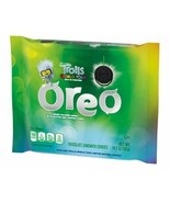 Oreo Trolls World Tour Green Colored Creme Glitter Sandwich Cookie NEW F... - $11.29