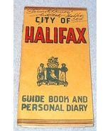City of Halifax Nova Scotia Canada Guide Book City Map 1951 - $9.95