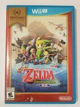 Legend of Zelda Wind Waker HD Nintendo Wii U Video Game CIB Complete - $20.74