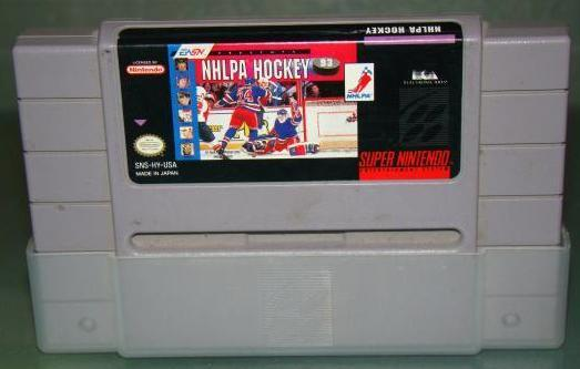 Super Nintendo - NHLPA HOCKEY