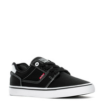 LEVIS KAIDEN LOW ATHLETIC TRAINERS SPORTS SNEAKERS MEN SHOES BLACK SIZE ... - $39.59