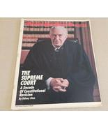 New York Times Magazine Chief Justice Warren Burger; Supreme Court Nov 1... - $33.65