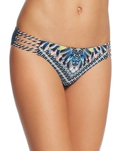 New Red Carter Women's Tab Side Hipster Bikini Bottom Deep Lake Multi SZ... - €33,55 EUR