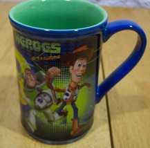 Disney TOY STORY BUZZ LIGHTYEAR WOODY CERAMIC MUG NEW - $19.80
