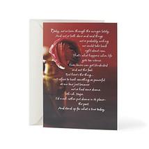 "Hallmark Mahogany Love Greeting Card (I'm Sorry)5.8"" wide and 8.3"" long - $5.60"
