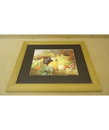 Fruit Still Life Art, Framed Print 23in x 20in x 1in - $27.13