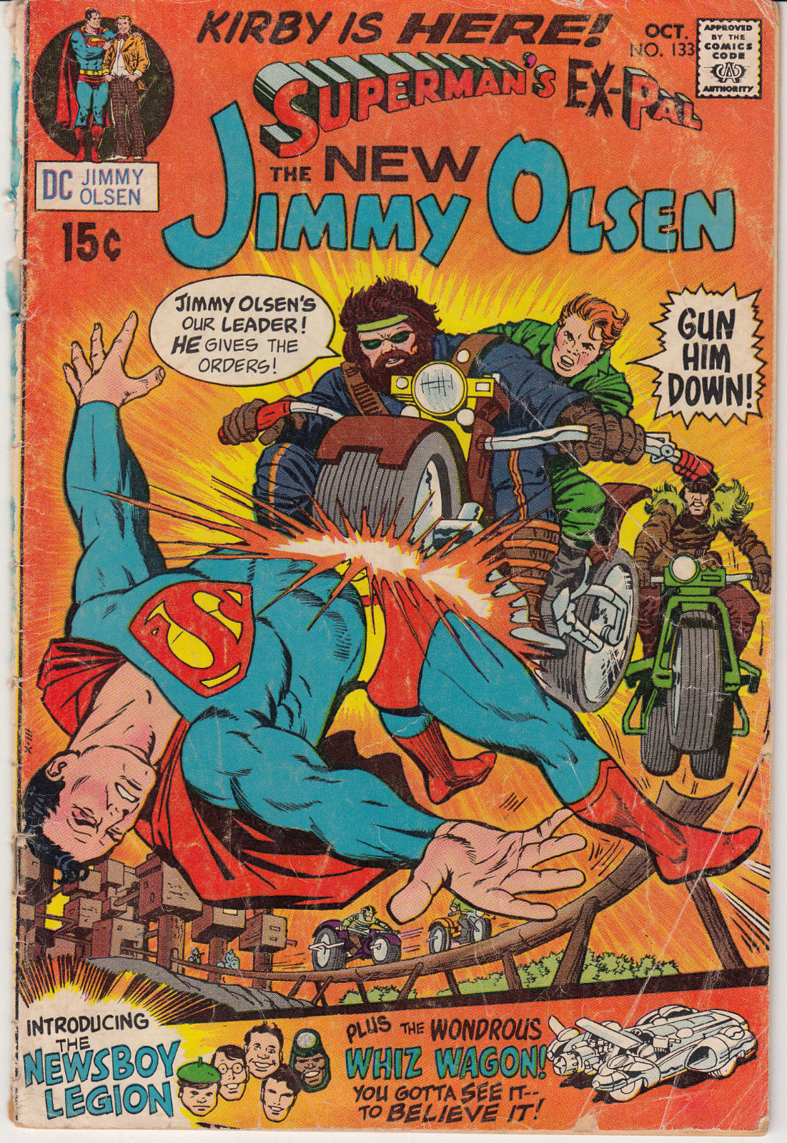 1970 DC Jimmy Olsen Superman Ex-Pal The New Jimmy Olsen #133