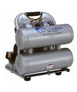 Portable Air Compressor 4.0 Gal. 2.0 HP Electric Twin Tank Ultra Quiet O... - $326.22