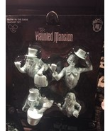 disney parks magnet set haunted mansion glow in the dark ghosts new with... - $25.31