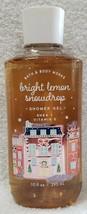 Bath Body Works BRIGHT LEMON SNOWDROP Shower Gel Vitamin E Shea 10 oz/29... - $24.74