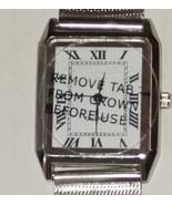 Women's SKC Silver Mesh Quartz Analog Watch White Dial Roman Numeral Rec... - $9.44