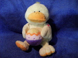 ty pluffies Pluffy Quackers Duck W Egg RARE Cute - $4.90