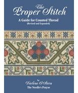 The Proper Stitch Book guide for counted thread Darlene O'Steen Annie's ... - $32.40