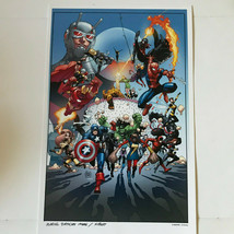 "Disney California Adventure Marvel 14"" x 8.5"" Poster Passholder Exclusive - $19.95"