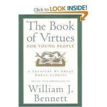 The Book of Virtues for Young People [Paperback] William J. Bennett image 2